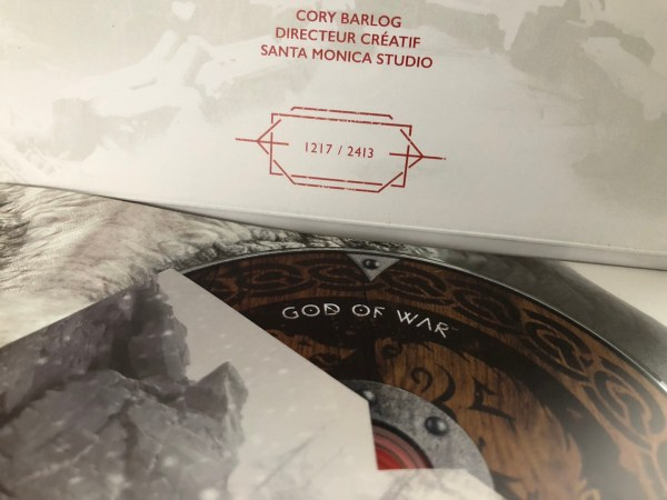 Numéro Press Kit God of War PS4
