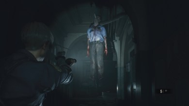 """RESIDENT EVIL 2 """"1-Shot Demo"""" Leon Kennedy"""