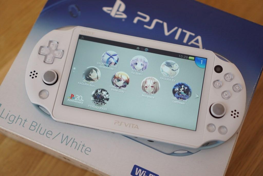 Unboxing PS Vita 2000 Light Blue/White