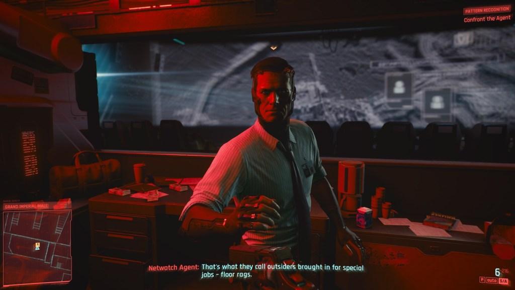 Un agent dont le seul but est de griller votre cerveau dans Cyberpunk 2077