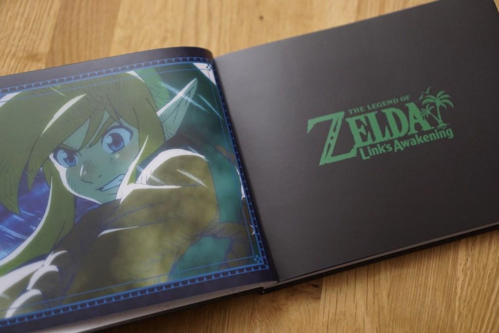 Artbook Zelda Link's Awakening Limited edition