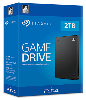 Seagate game drive ps4