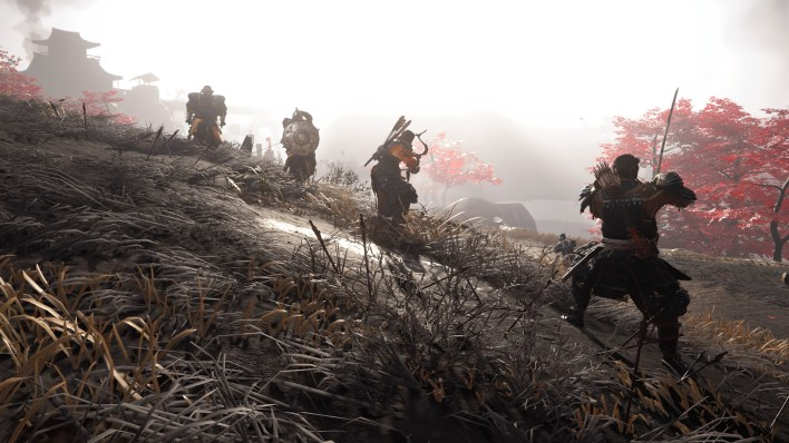 Fight ghost of Tsushima