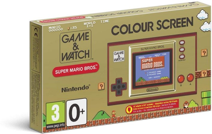Packaging Game & Watch: Super Mario Bros