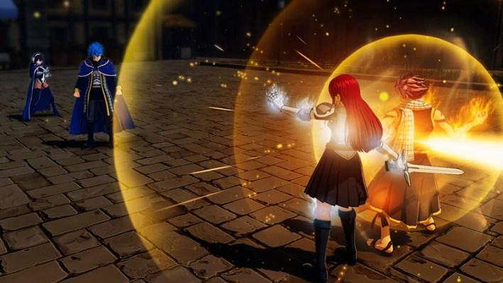 Attaque combinée Fairy Tail