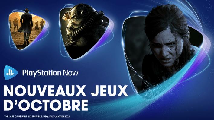 PlayStation Now Octobre 2021
