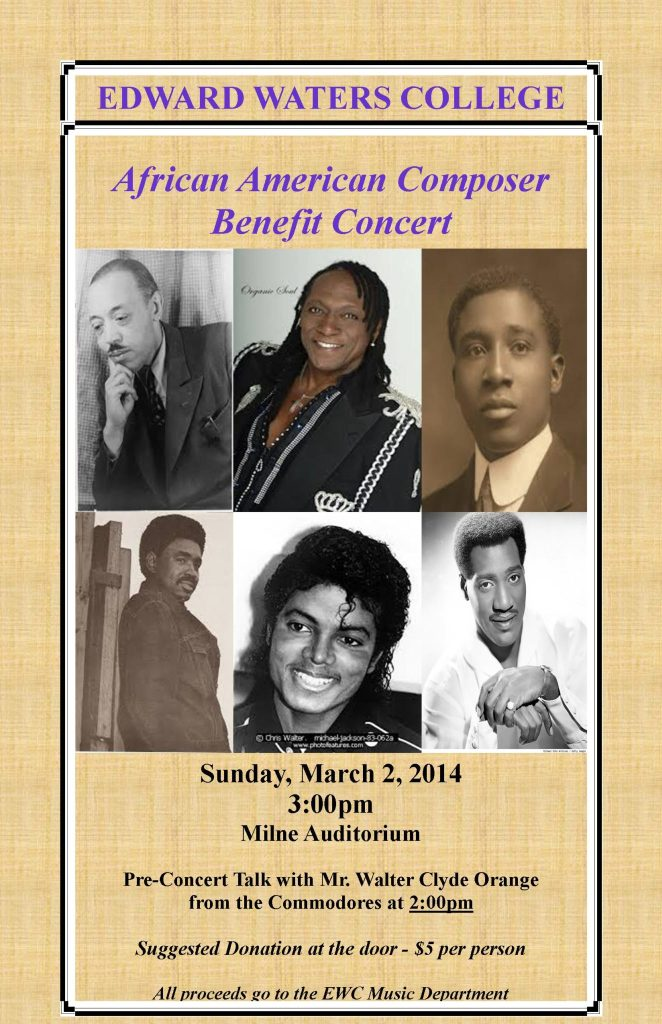 AA Benefit Concert Flyer 11x17