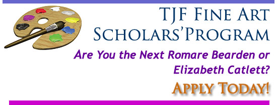 Will you be the next TJF Fine Arts Scholar? Apply today!