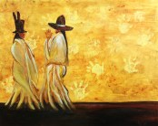 """Two Hats"" by Anthony Deiter"