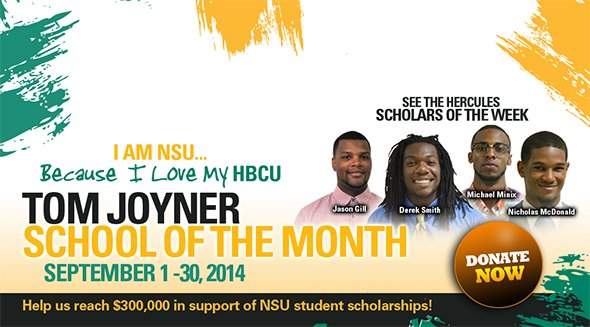 Norfolk State University Named September School of the Month