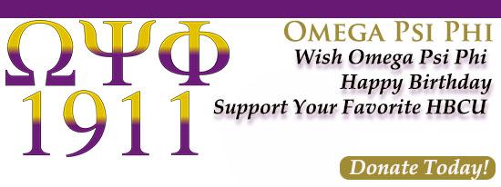 Omega Psi Phi Celebrates Anniversary