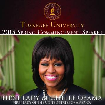 michelle obama  - tuskegee
