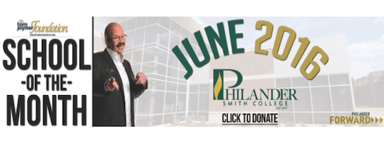 Philander Smith College Named June 2016 School Of The Month #PSC1877