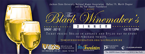 2016 The Black Winemaker's Dinner