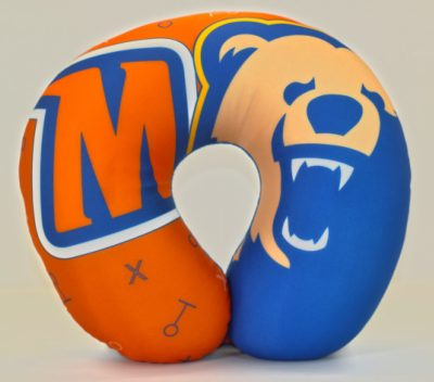 Morgan State University neck pillow