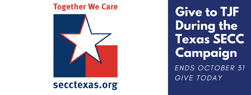 Give to TJF During the Texas State Employee Charitable Campaign