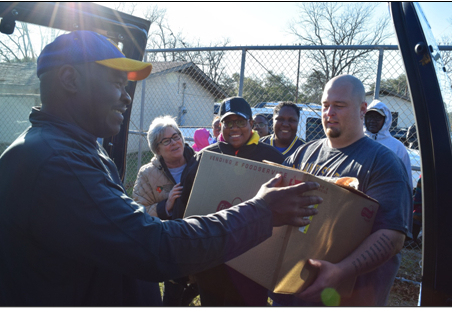 Albany State University Delivered 400 Meals to Albany Storm Victims