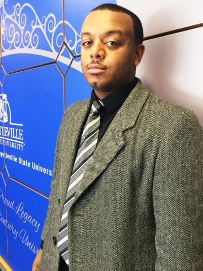 Nicholas Ceasar of Fayetteville State University Named Hercules Scholar