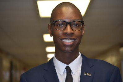 Ervin Malik Simmons of SUNO is Our Hercules Scholar of the Week