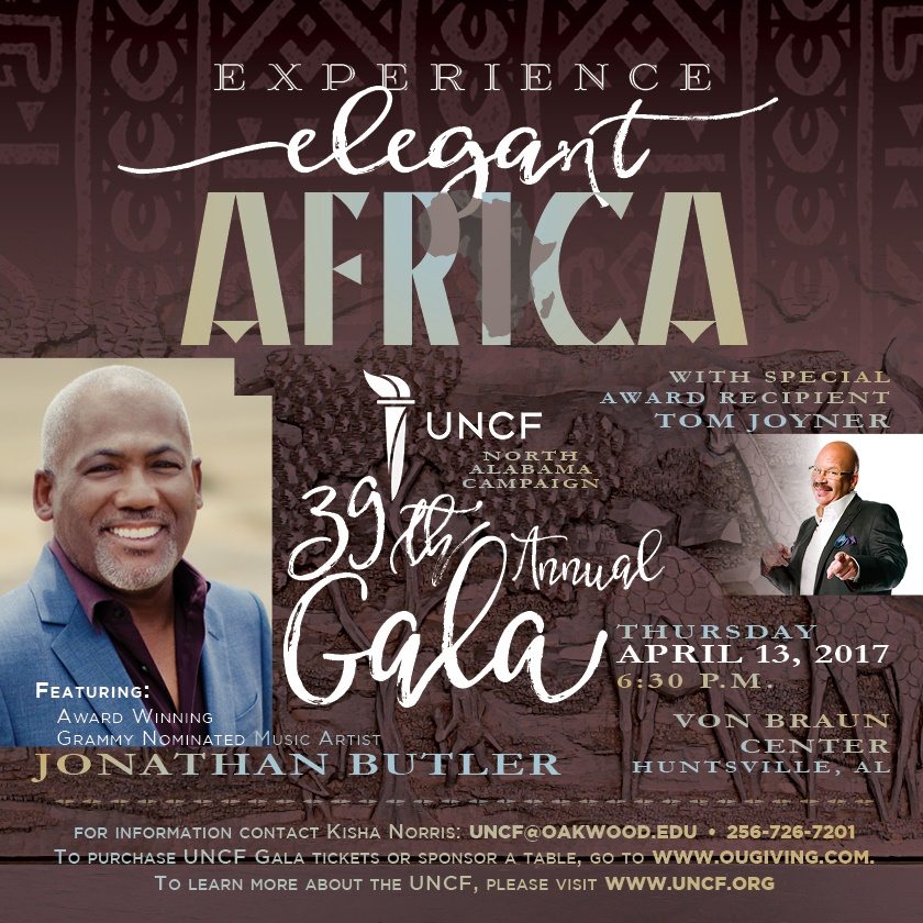 Tom Joyner to be Honored at the Oakwood University 39th Annual UNCF 'Experience Elegant Africa' Gala