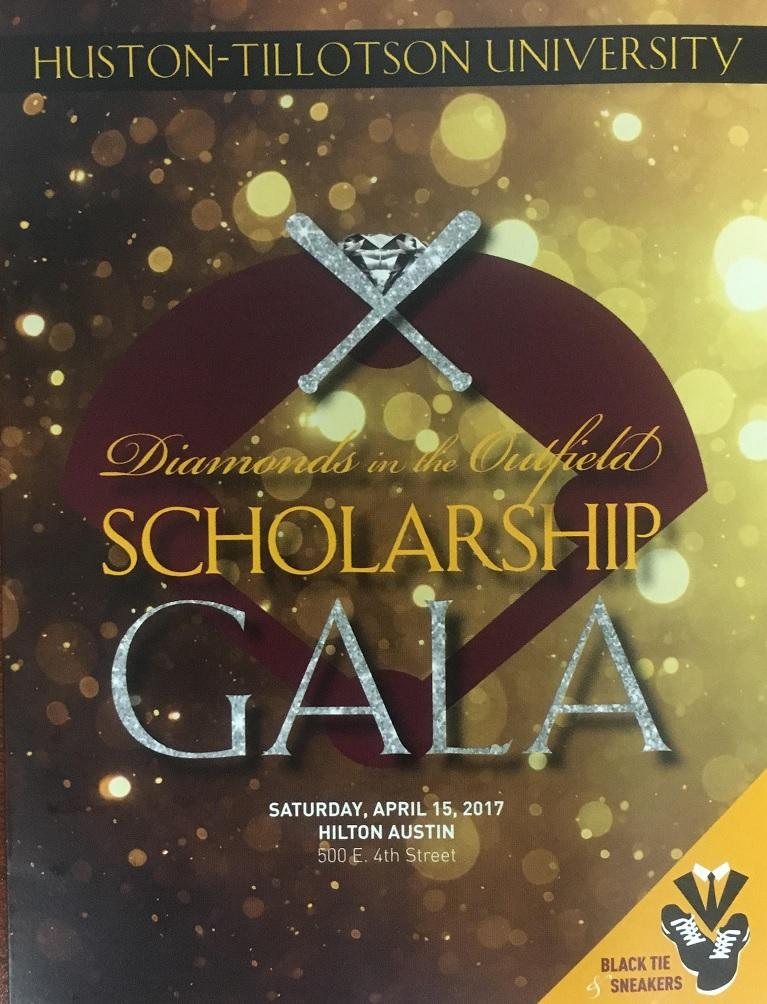 Huston-Tillotson University Diamonds in the Outfield Scholarship Gala