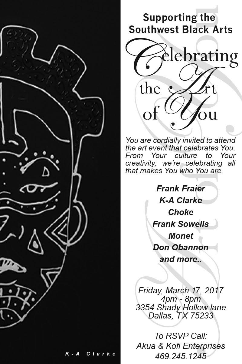 Celebrating the Art of You, Supporting the Southwest Black Arts
