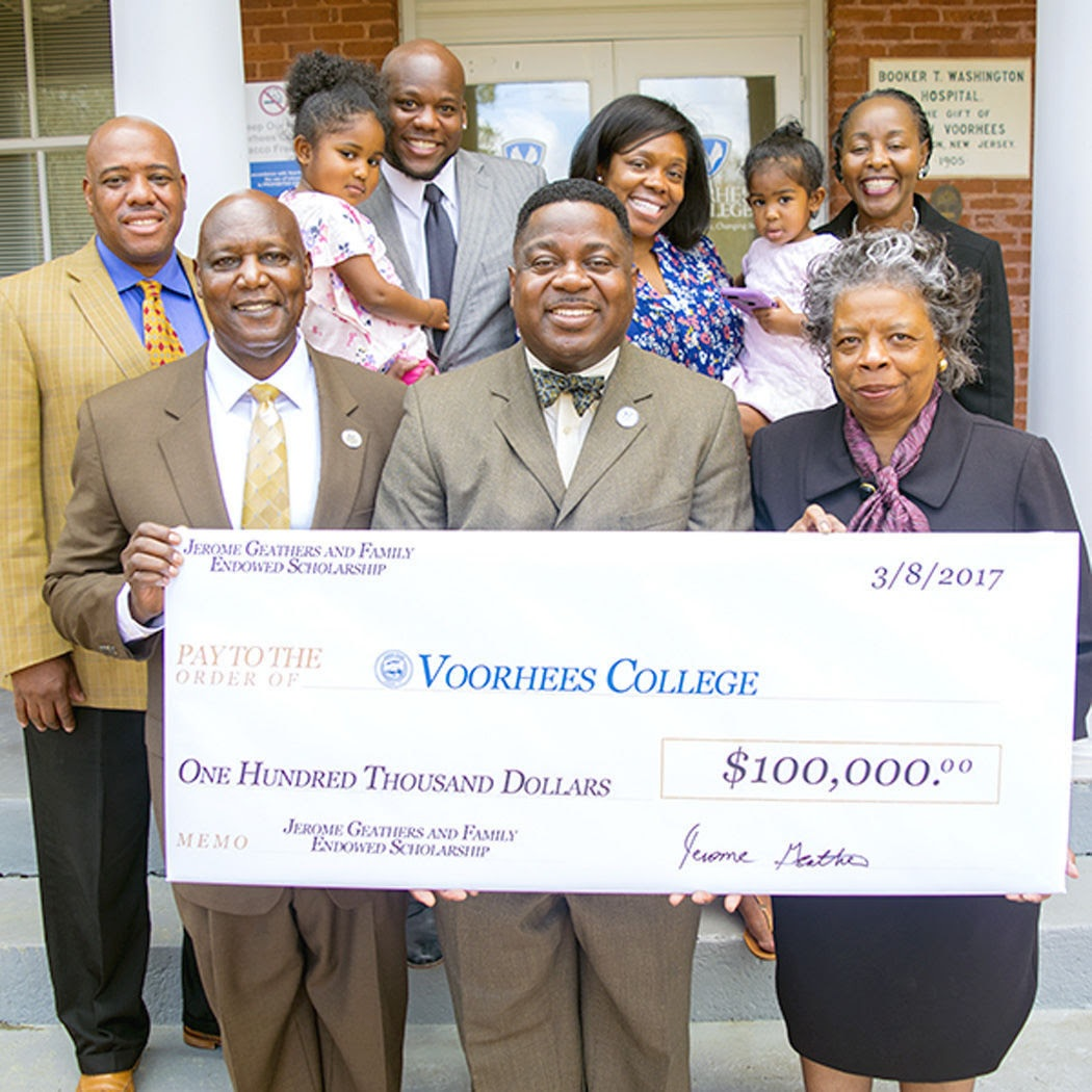 Voorhees Grad Establishes $100K Endowed Scholarship Fund