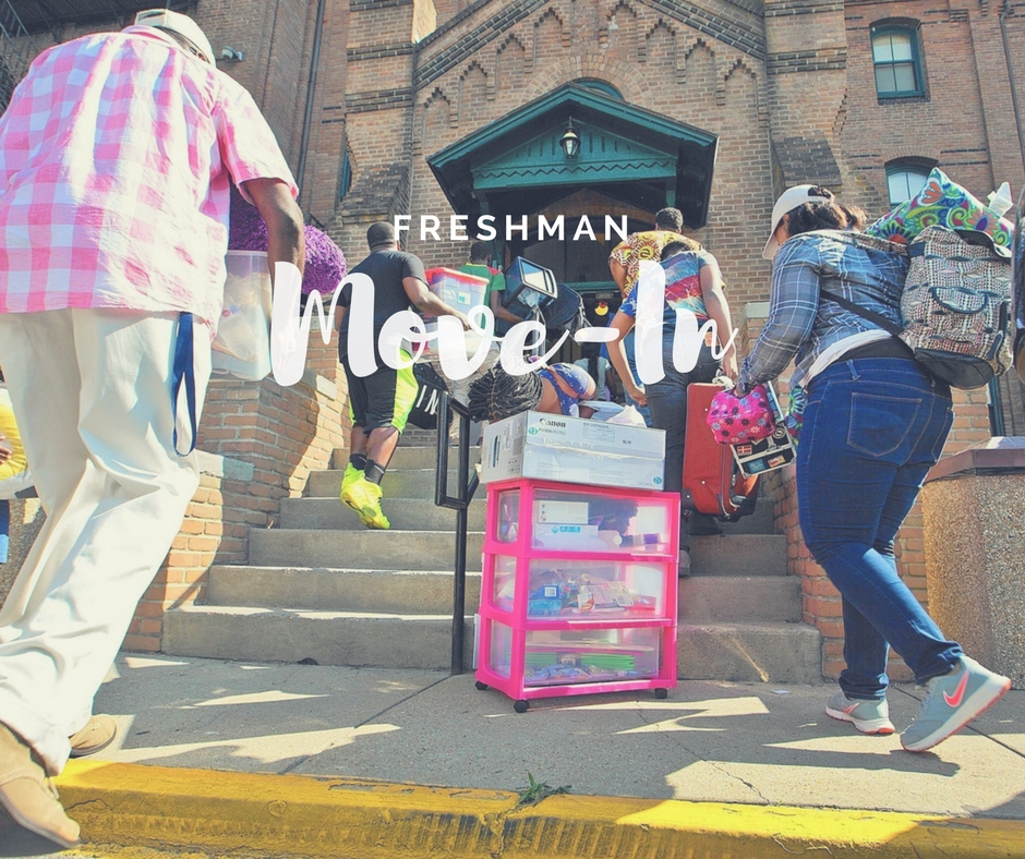 Mississippi Valley State University Freshmen Move-In Day 2017