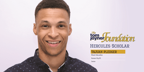 A Role Model to the Youth: Ta'Juan Pledger of UAPB is Today's Hercules Scholar