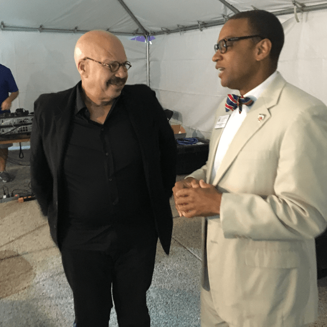 AUDIO: TJF & the Tom Joyner Morning Show Chat with Lane College President at the 2017 Southern Heritage Classic Live Broadcast