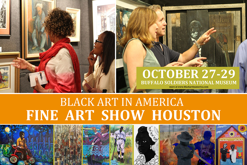 BAIA Fine Art Show Houston is Oct 27-29th at the Buffalo Soldiers National Museum