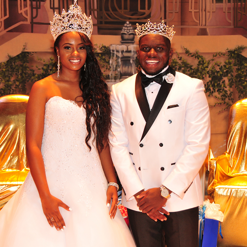 Kevin Perry and Michaela J. Rose are Crowned as 2017-2018 Mr. & Miss Delaware State University
