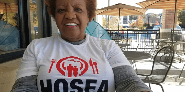 Elisabeth Omilami, Human rights activist and CEO of Hosea Feed the Hungry and Homeless