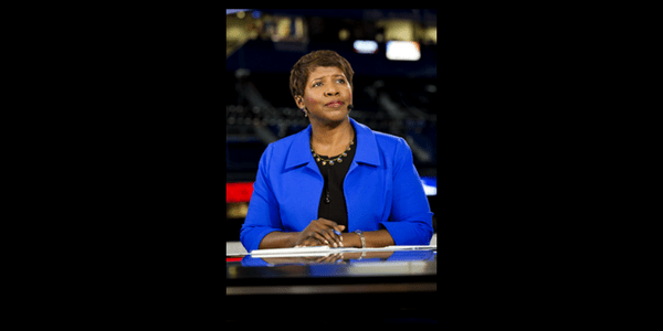 Gwen Ifill, managing editor and moderator for Washington Week and senior correspondent for The NewsHour on PBS; Honorary member
