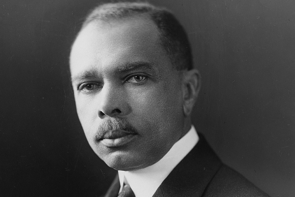 "James Weldon Johnson, composer of ""Lift Every Voice and Sing"""