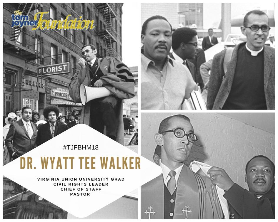 #TJFBHM18: Wyatt Tee Walker, National Civil Rights Leader & Virginia Union University Grad