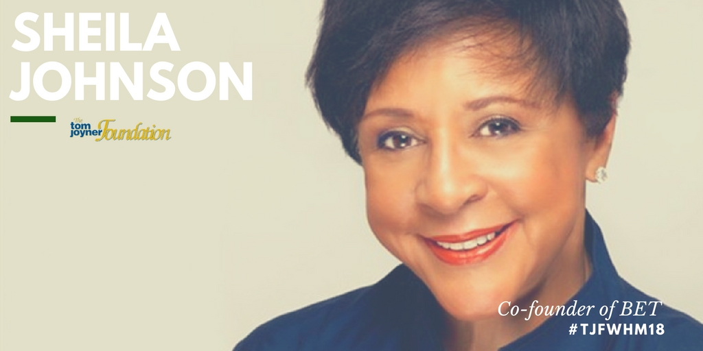 "Sheila Johnson, Co-founder of BET ""When I instinctively feel it is the right move to make, I do it,"""