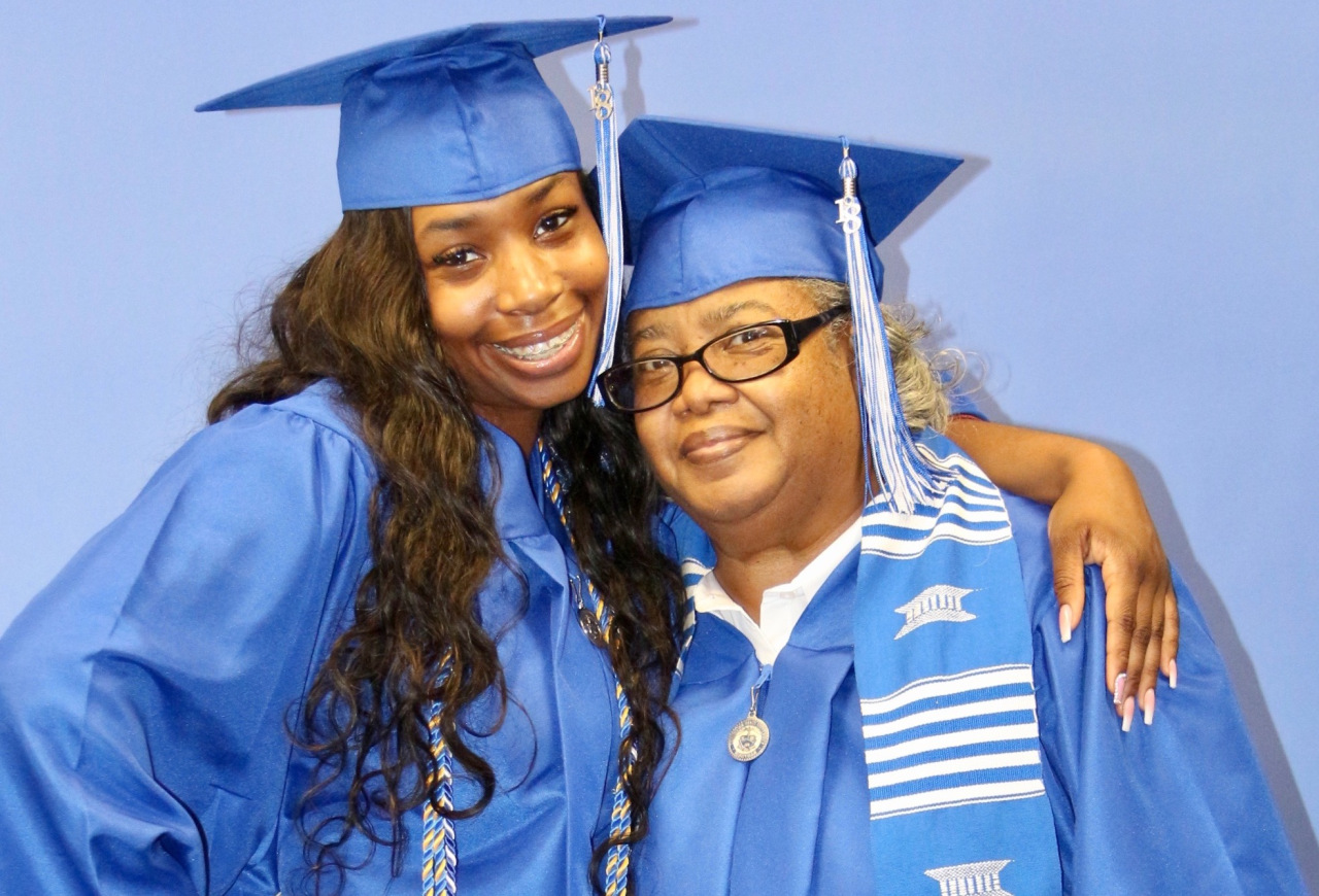 Grandmother And Granddaughter Graduate Tennessee State University Together
