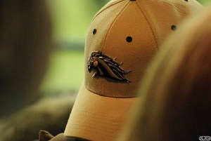A Western Michigan hat. Horrible.