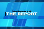 Tom Kephart with THE REPORT