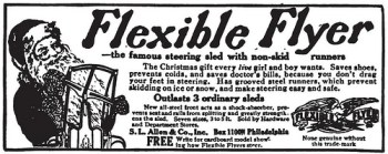 Flexible Flyer classic advertisement