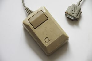 The Macintosh Plus mouse