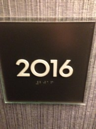 Coincidence that was our room number?
