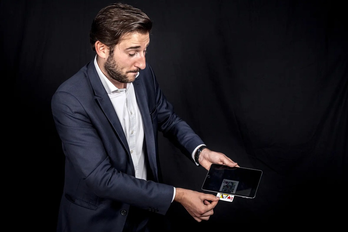 Magicien iPad et Mentaliste