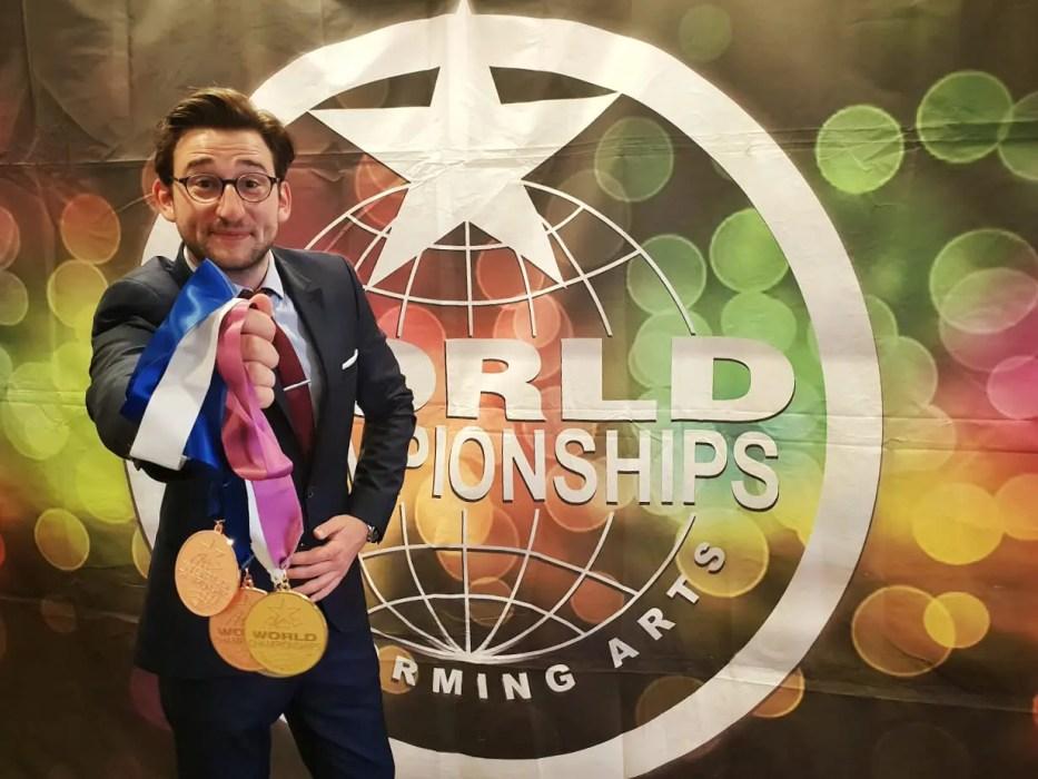 Magicien iPad Médaillé d'Or à Hollywood
