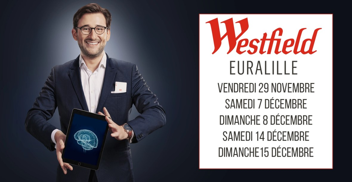 Tom Le Magicien - Westfield Euralille