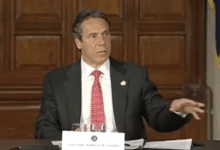 "Photo of Andrew Cuomo on the Problem of the Word ""Schools"""
