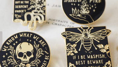 Photo of Ever Wish Badass Shakespearean Heroines Had Their Own Pins? Wish Granted.