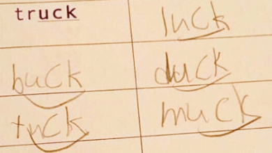 "Photo of Words that End with ""-uck""? This Kid Handled the Obvious One with Aplomb"