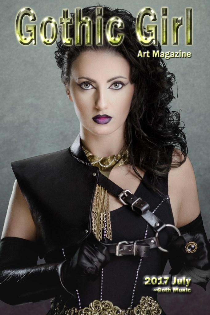 Gothic Girl Art Magazine | 2017 July Concept & Photography | Tom Libertiny Model | Hannah Eadeh Costume | Andrew Martina MUHA | Charlee HM MUHA assistant | Adam Hynes